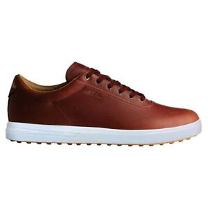 NEW-Mens-Adidas-Adipure-SP-Spikeless-Golf-Shoes-F33593-Tan-Brown-White-Pick-Sz