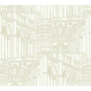 Image is loading American-Classics-Architectural-Drawing-on-Sure-Strip- Wallpaper-