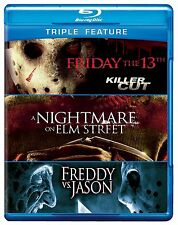 FRIDAY THE 13TH / FREDDY VS JASON / ELM STREET -  Blu Ray - Sealed Region free