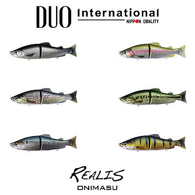 DUO Realis Onimasu Floating Swimbait - Select Color(s)