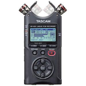 Tascam-dr-40x-Stereo-Audio-enregistreur-avec-fonction-Interface