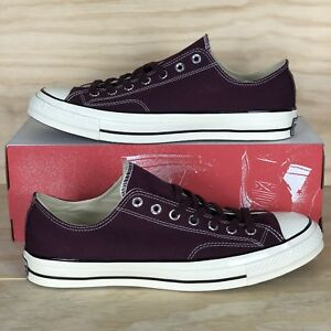 19506906022b Details about Converse Chuck Taylor All Star 70 Low Top Ox Dark Red Shoes  157544C Size 11