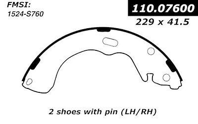 Drum Brake Shoe-New Brake Shoes-Preferred Rear Centric 111.07600