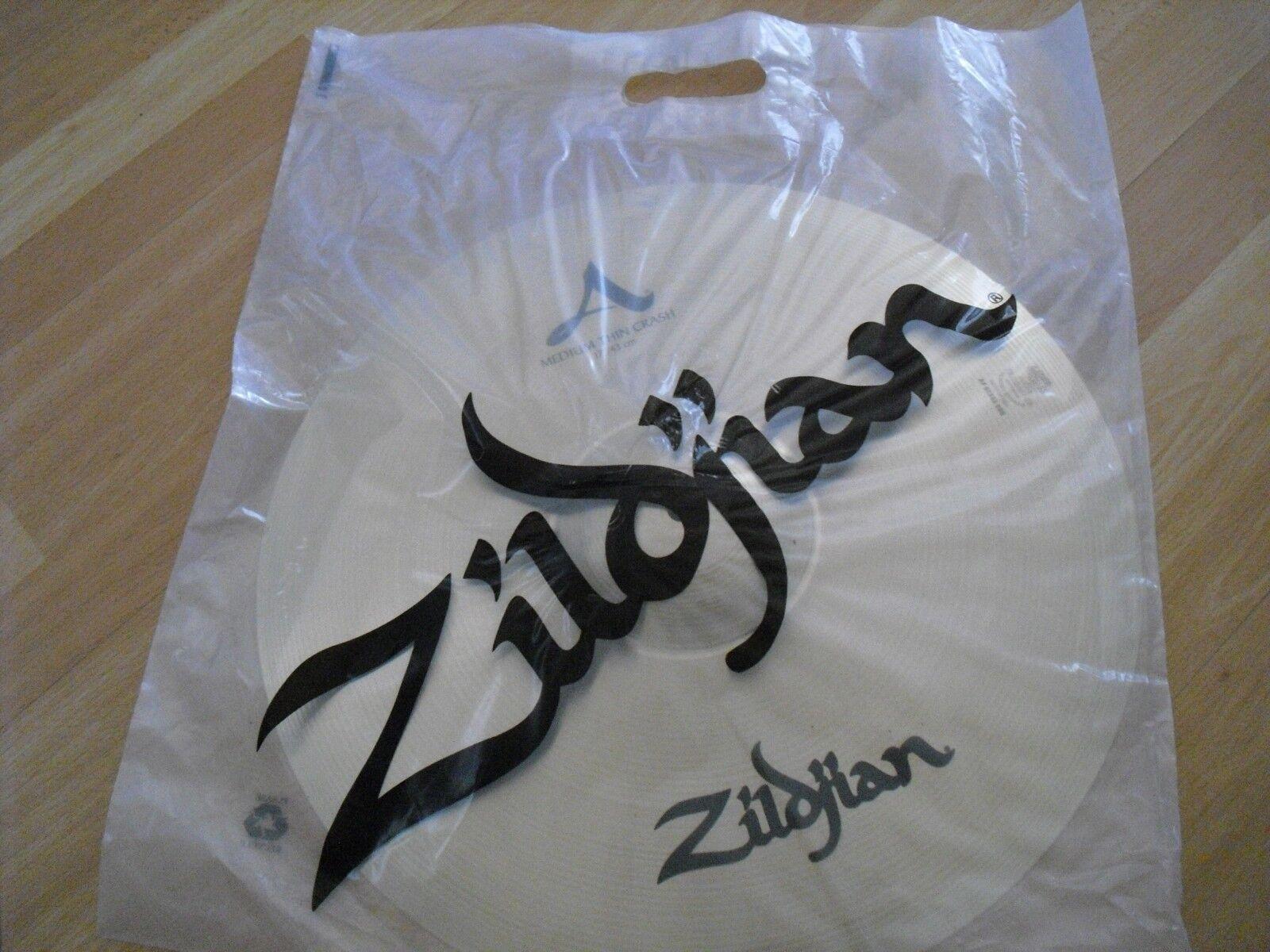17  Avedis Zildjian Medium Thin Crash Cymbal 1295g BARELY USED