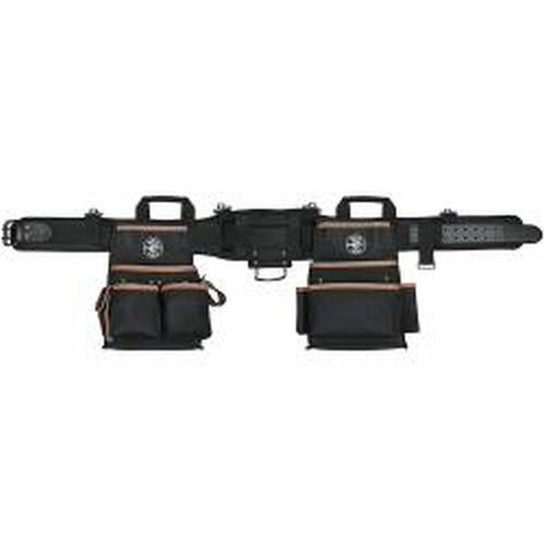 Klein Tools 55427 Tradesman Pro Electrician's Tool Belt, Medium