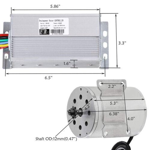 PEDALE GO KART All TERRAIN VEHICLE 1800W 48V E-Bike Motore Elettrico Brushless Controller