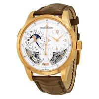 Jaeger LeCoultre Duometre A Quantieme Lunaire 18kt Rose Gold Mens Watch Q6042520