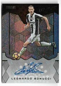 2017 Panini Revolution Soccer Autograph Auto Card : Leonardo Bonucci A03