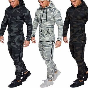 no sale tax the latest amazon Herren Set Camouflage Sportanzug Jogginganzug Trainingsanzug ...