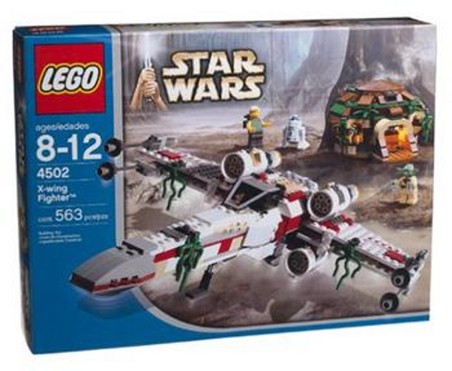 LEGO 4502 - STAR WARS - X-wing Fighter (Dagobah)  - 2004 - With Box & Manual  marques en ligne pas cher vente
