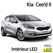 Kit éclairage ampoules à  LED  Blanc Intérieur pour Kia Cee'd II