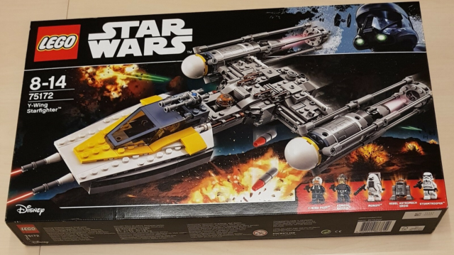 Lego Star Wars, 75172 Y-Wing Starfighter, Ny og UÅBNET…