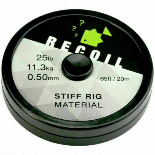 Brand New Thinking Anglers Recoil Stiff Rig Hooklink Material