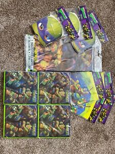 Licensed Ninja Turtles Birthday Party Decorations Banner Tablecloth Loot Bags