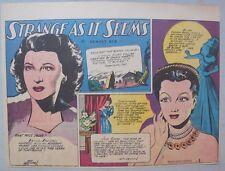 Strange As It Seems: Katina Paxinau, Jane Shore of London by Hix 10/21/1945