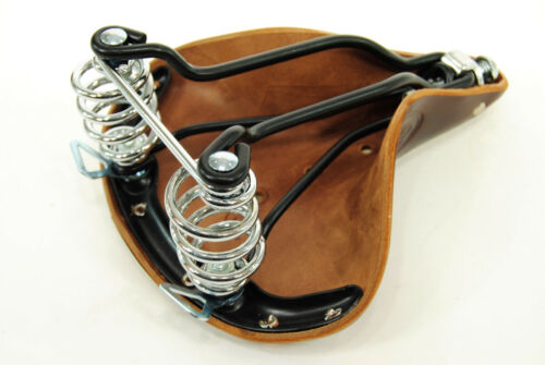 Brooks B67S Women/'s Bicycle Saddle Chrome Springs Brown Leather