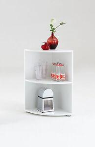 Ecko-039-Bathroom-Kitchen-Corner-Shelf-White-Floor-Standing