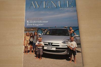 192413) Peugeot 807 - Avenue - Zeitschrift 03/2002