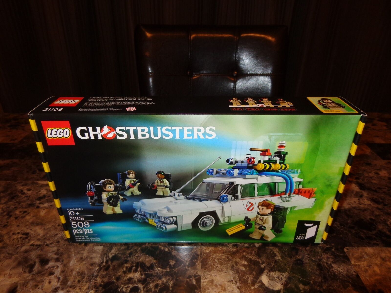 Ghostbusters Rare Ecto-1 Lego Toy Set 30th Anniversary Limited Edition 508 Piece