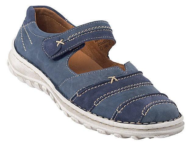 Josef Seibel 8400373 8400373 8400373 Sandals Ballet Flats kvinnor skor blå Storlek 36 -45 Neu3  bästa försäljningen
