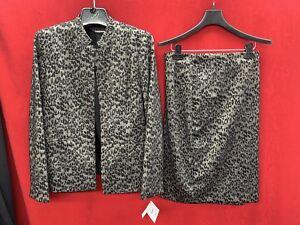 Skirt 10 Tag Med Ikke tank Kasper size lined detaljhandel inkludert Suit SdBqvfxw4
