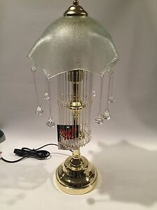 Image is loading OK-Lighting-Touch-L&-Brass-Finish-Lot-J0240007 & OK Lighting Touch Lamp Brass Finish Lot J0240007 | eBay