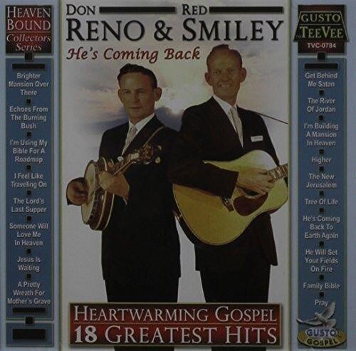 Don Reno - Heartwarming Gospel: 18 Greatest Hits [New CD]