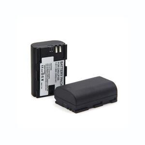 Batería para Canon EOS 5ds 5ds-r 6d 60da 70d 7d mark II con info chip