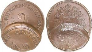 Imperio-2-Peniques-1874-a-Fehlpragung-Doppelschlag-2x-Estampado-Vz