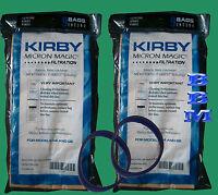 18 Kirby Vacuum 197394 Bags +2belts G3 G4 G5 Ulitmate Diamond Sentria Twist On