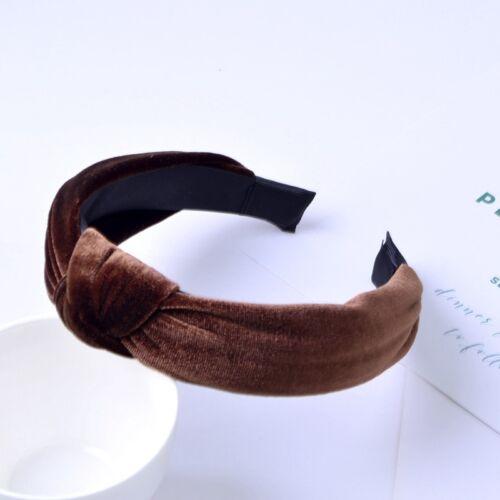 Fashion Velvet Bow Knot Hair band Women Hoop Sweet Girl Hair Headband Accessory