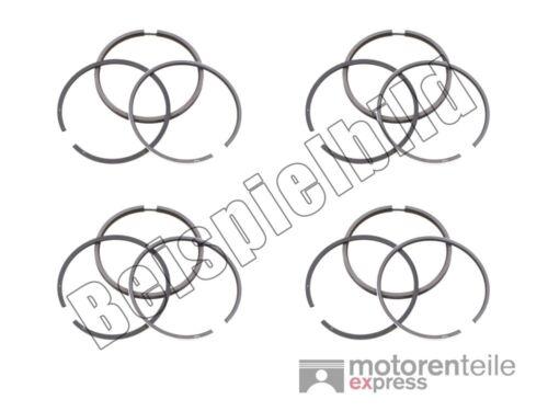 4 Anneaux Piston Phrase Piston ringsatz Goetze MOTEUR STD pour ALFA ROMEO 75 1226613
