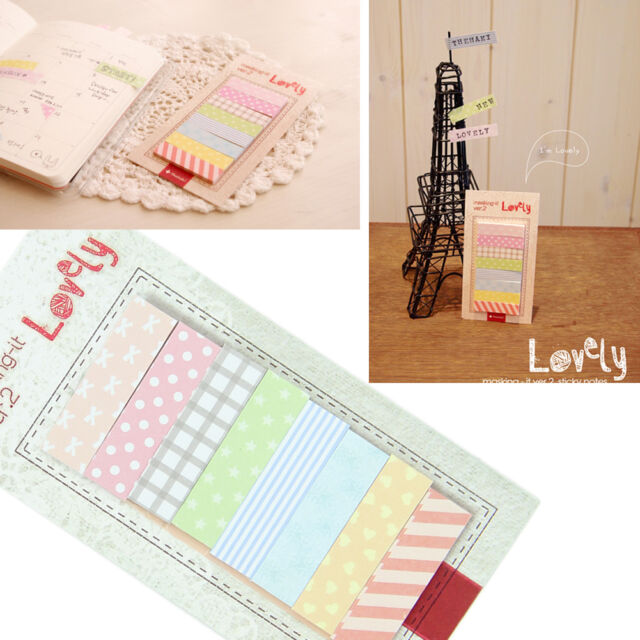 Cute Dot Sticker Post-it Bookmark Point it Marker Memo Flags Sticky Notes HOT
