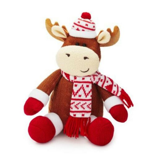 Adorable Holiday Max the Moose Stuffed Animal by Sur la Table NWT
