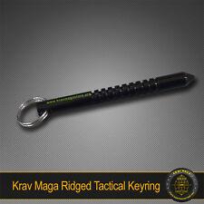 Krav Maga Self-Defence RIDGED Kuboton Key Ring - TOUGH SOLID ALLOY TACTICAL ITEM
