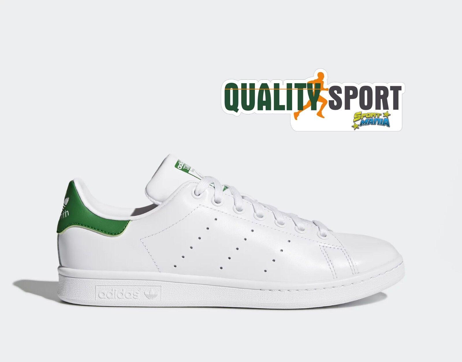 Sport Schuhe Grün Weiß Smith Stan Adidas Turnschuhe Herren