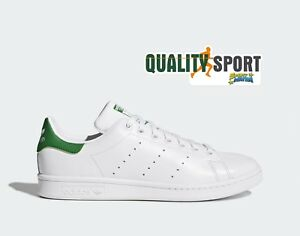 Détails sur Adidas Stan Smith Bianco Verde Scarpe Shoes Uomo Sportive Sneakers M20324 2019
