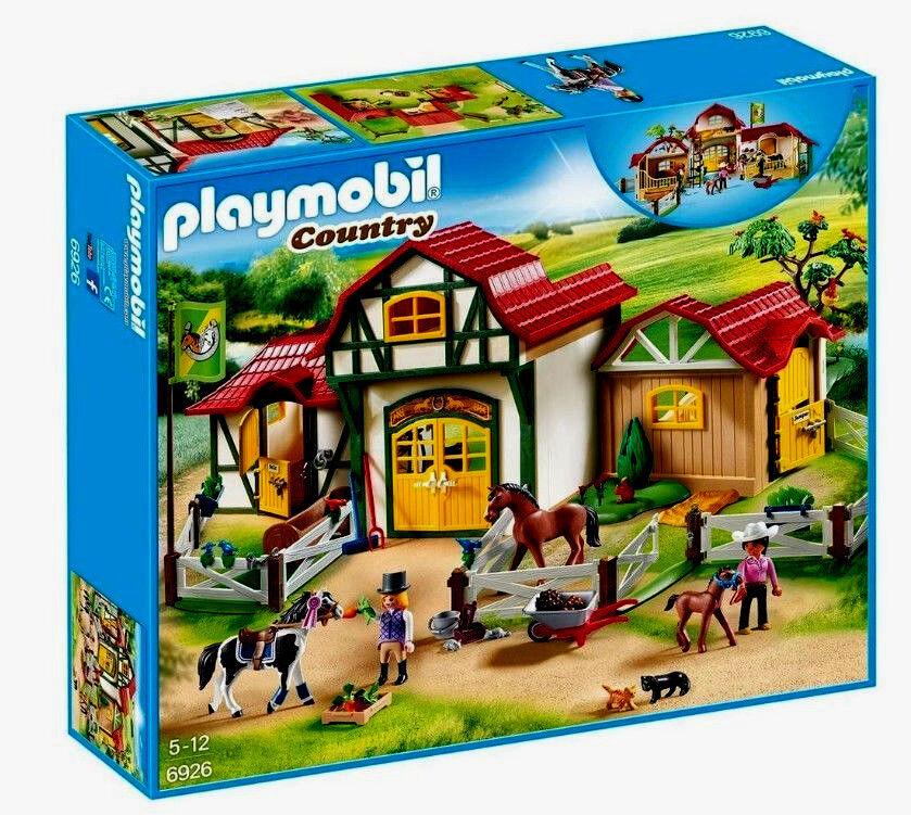 Playmobil Country 6926, Großer Reiterhof