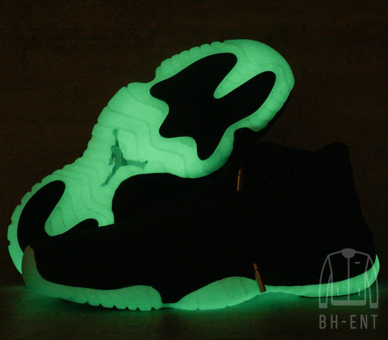 Nike Air Jordan Future Premium Glow Basketball Mens shoes 652141-003 Sz 9.5 Dark