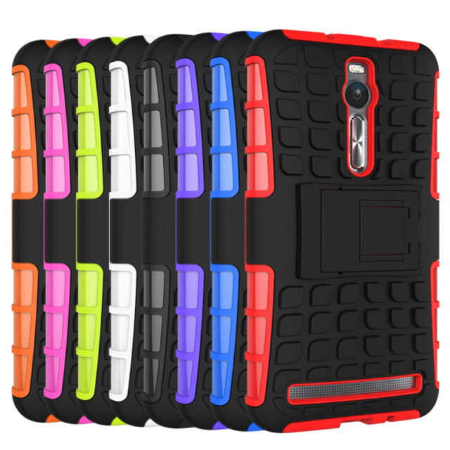 lowest price 2ff36 c3ec3 For ASUS Zenfone 2 ZE551ML Case Hybrid Shockproof Armor Kickstand Phone  Cover