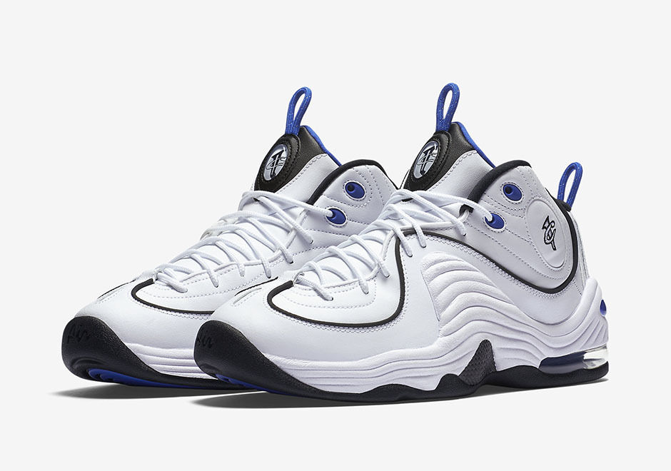 2016 Nike Air Penny 2 White II White 2 Royal Blue Size 14. 333886-100 Jordan Foamposite d67634