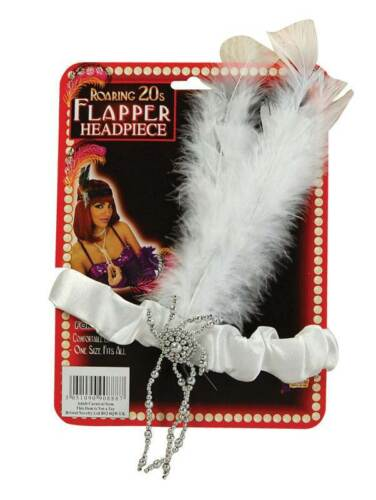 anni 1920 20 Moulin Rouge FANCY DRESS ANNI/'20 Charlston BIANCO anni 1920 20 FASCIA