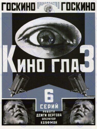 ADVERT CULTURAL THEATRE MOVIE POSTER SOVIET UNION EYE POSTER PRINT BB4642B