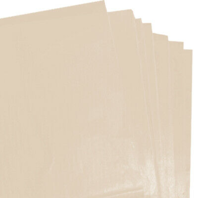 50 SHEETS OF YELLOW COLOURED ACID FREE TISSUE PAPER 375mm x 500mm *FREE P/&P*