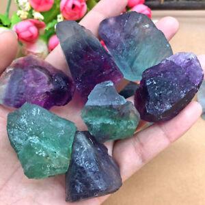 Collectible-Quartz-Crystal-Natural-Rough-Fluorite-Stone-Specimen-Gravel-Gemstone
