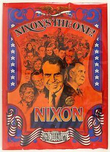 1968-72-034-Nixon-039-s-the-one-034-Presidental-Poster-20-1-4-034-x-28-034