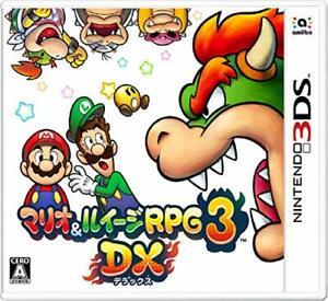 Mario & Luigi RPG3 DX [3DS] JAPAN version [FREE SHIPPING]