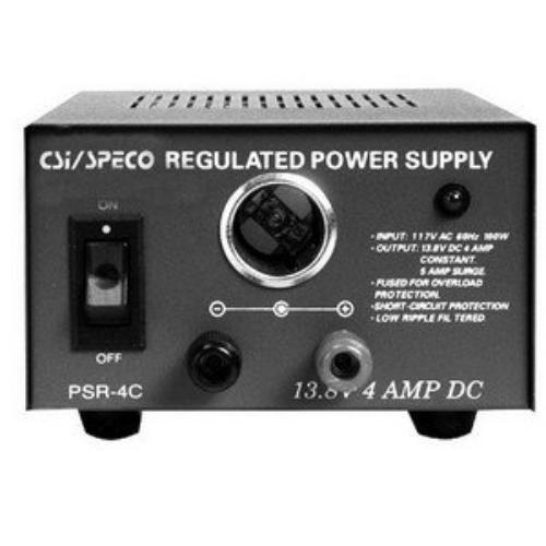 Speco Psr4c Dc Power Supply psr4c 110 V Ac Input Voltage