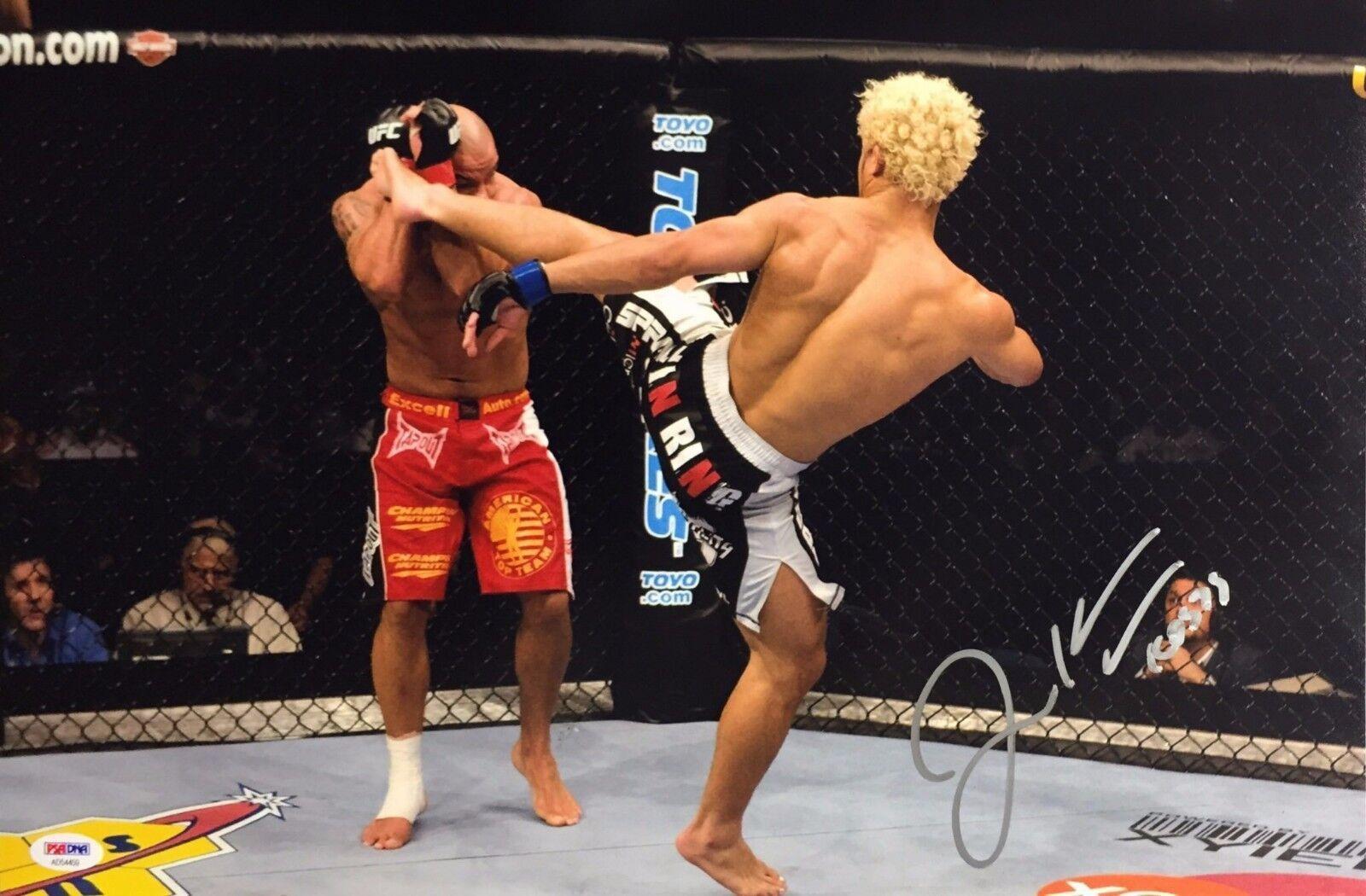 Josh Koscheck Signed 12x18 Photo *UFC Champ PSA AD54459