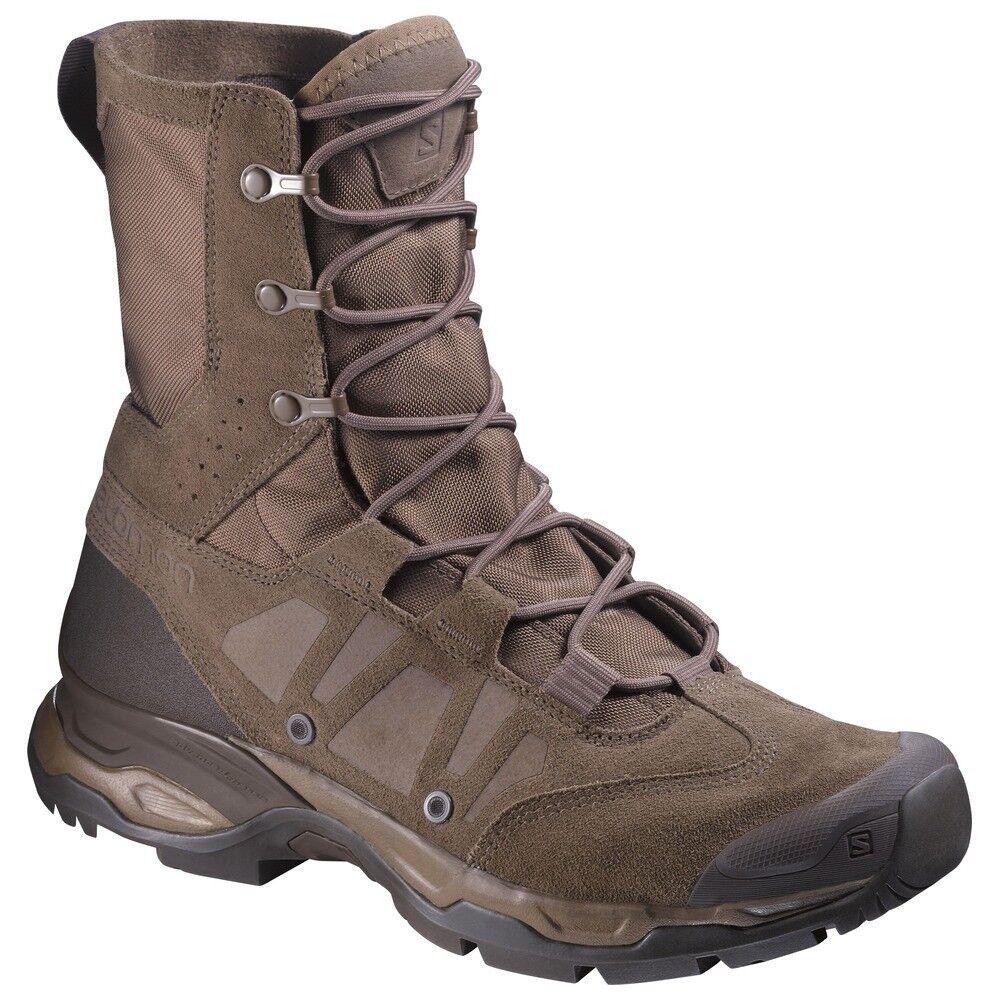 Salomon para hombre L37950100 Jungle Ultra Burro Marrón Militar Deber botas tácticas